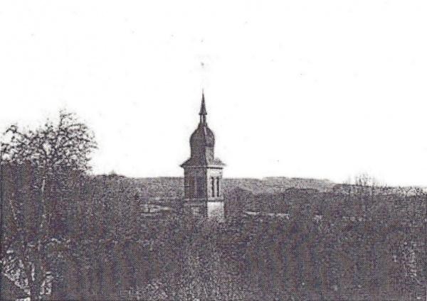 Le clocher de Les Voivres