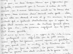 """Lettre de la « voisine »  des """"Casques blancs"""" 2/4"""