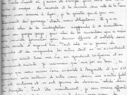 """Lettre de la « voisine »  des """"Casques blancs"""" 3/4"""