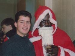 Un Père Noël venu de la Guadeloupe !