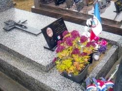 La tombe de Frédéric Désiles