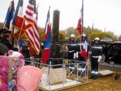 Hommage au monument aux morts
