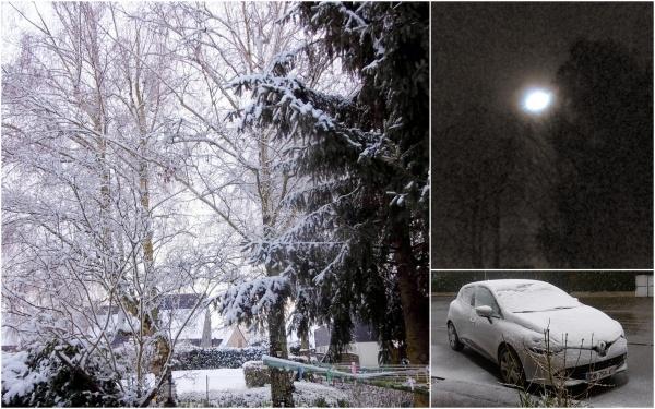 De la lune à la neige