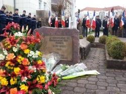 Hommage des gendarmes des Vosges