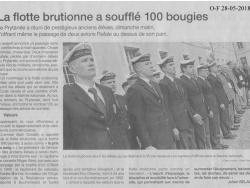 """Hommage à la """"Flotte brutionne"""""""