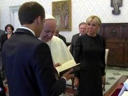 Les Macron au Vatican