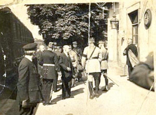 Raymond Poincaré à Darney