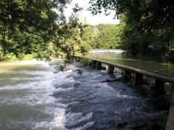 Photo paysage et monuments, Aisy-sur-Armançon - Passerelle d'Aisy-sur-Armançon
