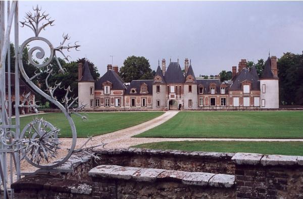 Le château de Grandchamp