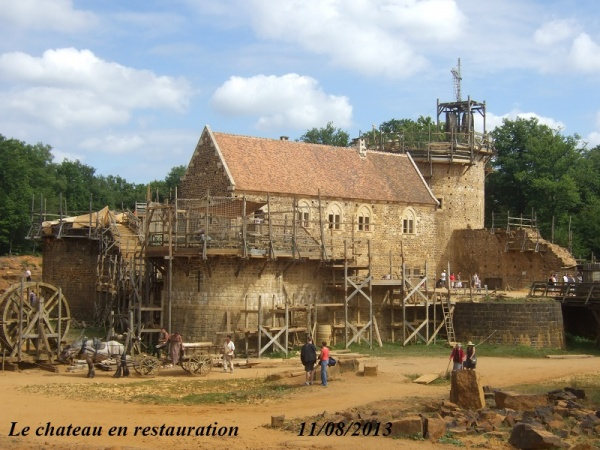 Photo Treigny - Chateau de Guedelon