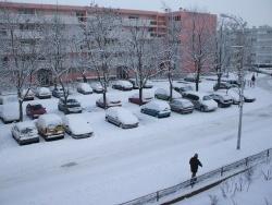 Photo paysage et monuments, Épinay-sous-Sénart - une journée de neige en décembre 2009 a Epinay sous sénart