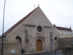 Photo paysage et monuments, Saint-Cyr-la-Rivière - L'église de Saint-Cyr la  Rivière