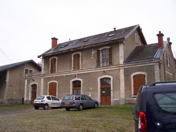 Photo Saint-Cyr-la-Rivière - La gare de Saint-Cyr la rivière
