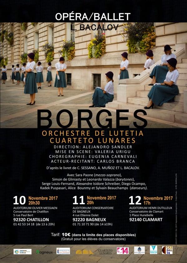 Opéra/ballet: Borges de Luis Bacalov