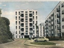 Photo paysage et monuments, Créteil - Rue Juliette Savar vers 1960