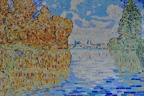 Effet d'automne à Argenteuil-Influence,Claude Monet.