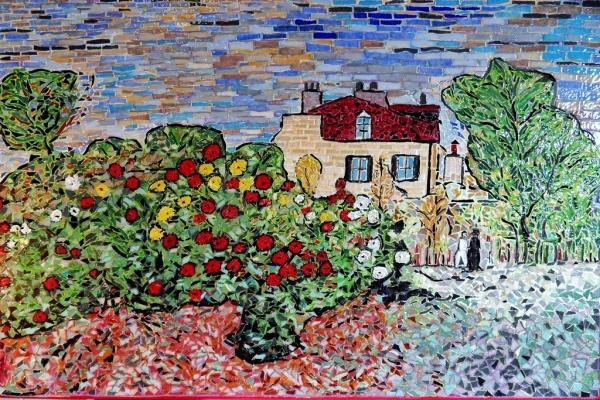 Photo Argenteuil - Le jardin de L'artiste à Argenteuil.Influence;Claude Monet.