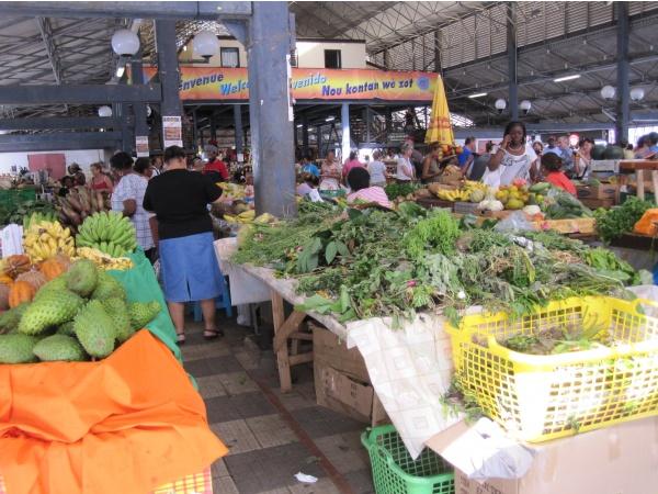 Le grand marché de Fort-de-France
